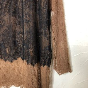 Bailey 44 Tops - Bailey 44 Lace See Through Blouse
